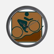 Mountainbike Wall Clock
