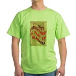 Flat Alabama Green T-Shirt