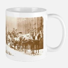 Western Stagecoach Old Wild West Coffee Mug