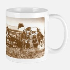 Old Wild West Settlers Pioneers Coffee Mug