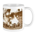 Old Wild West Apache Indians Coffee Mug