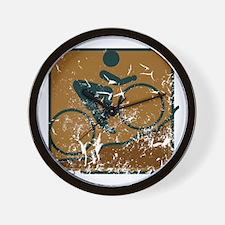 Mountainbike (used) Wall Clock