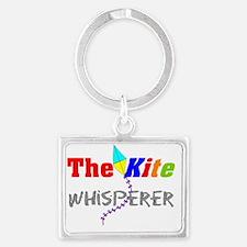 The kite whisperer 2 Landscape Keychain