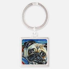 Pug Smile Keychains