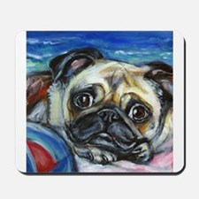 Pug Smile Mousepad