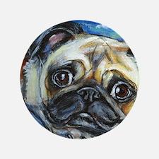"""Pug Smile 3.5"""" Button"""