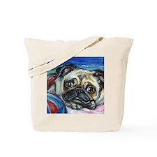 Pug Smile Tote Bag