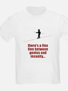 Fine Line Between Genius and T-Shirt