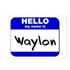 hello my name is waylon  Postcards (Package of 8)
