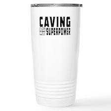Caving Is My Superpower Travel Mug