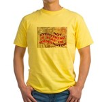 Flat Washington Yellow T-Shirt