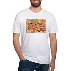 Flat Washington Fitted T-Shirt
