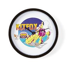 KIT FOX II Wall Clock