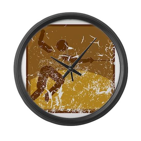 Fechten (used) Large Wall Clock