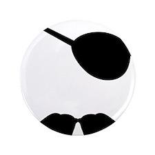 "Mustache-060-A 3.5"" Button"