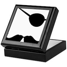 Mustache-060-A Keepsake Box
