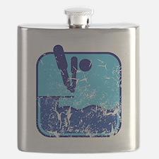 Turmspringen (used) Flask