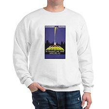 Chicago Buckingham Fountain Vintage Ad Sweatshirt