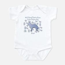 Learned Mudi Infant Bodysuit