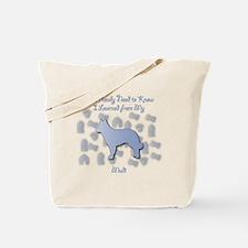 Learned Mudi Tote Bag