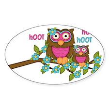 Hoot Owls Decal
