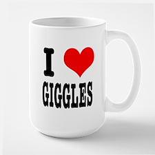 I Heart (Love) Giggles Mug
