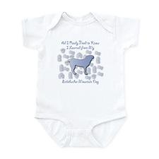 Learned Entlebucher Infant Bodysuit