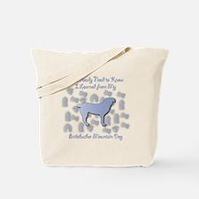 Learned Entlebucher Tote Bag