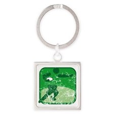 Rugby (used) Square Keychain