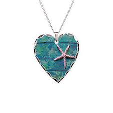 Starfish and Turquoise Seasho Necklace