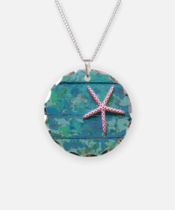 Starfish and Turquoise Seash Necklace