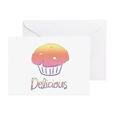 Delicious Cupcake Greeting Cards (Pk of 10)