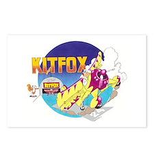 KIT FOX II Postcards (Package of 8)