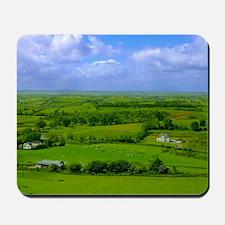 Ireland Green Pastures Photo Mousepad