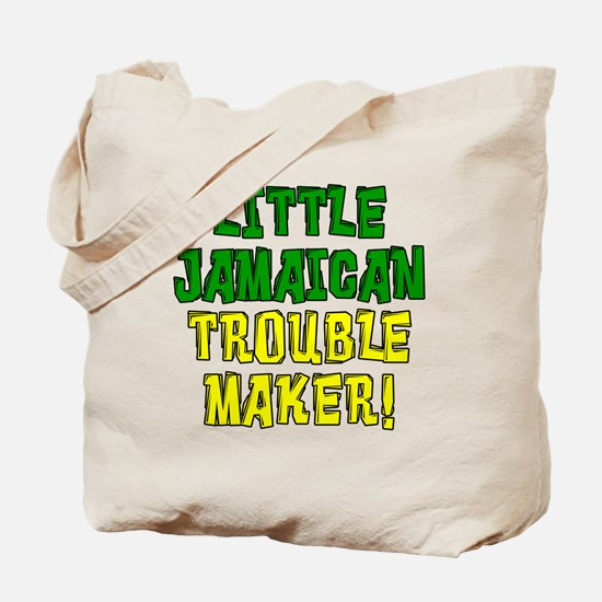 Little Jamaican Troulbe Maker Tote Bag