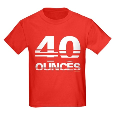 40oz. Kids Dark T-Shirt