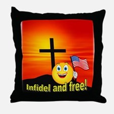 Christian-American Throw Pillow