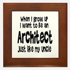 WIGU Architect Uncle Framed Tile