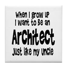 WIGU Architect Uncle Tile Coaster