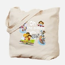 Oh the Places BL Tote Bag