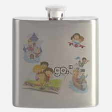 Oh the Places BL Flask