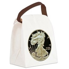 2010 American Eagle Silver Coin Canvas Lunch Bag