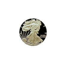 2010 American Eagle Silver Coin Mini Button