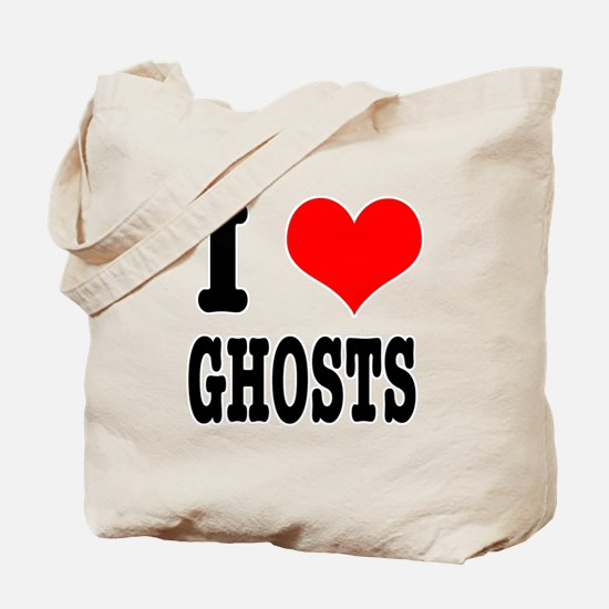 I Heart (Love) Ghosts Tote Bag