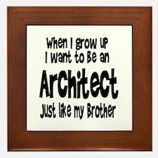 WIGU Architect Brother Framed Tile