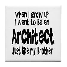 WIGU Architect Brother Tile Coaster