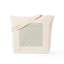 Small Cats Multicolor Tote Bag