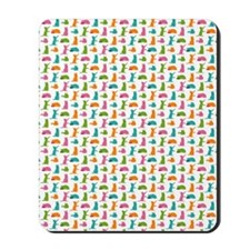 Small Cats Multicolor Mousepad