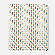 Small Cats Multicolor Mousepad