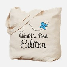 Editor (World's Best) Tote Bag